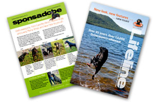 Sponsadobe and Lifeline newsletters