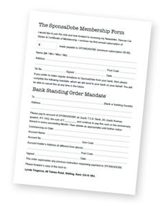 SponsaDobe Membership Form