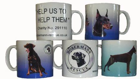 Dobermann Rescue Mugs